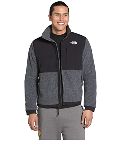 The North Face Denali 2 Jacket (Charcoal Grey Heather) Men
