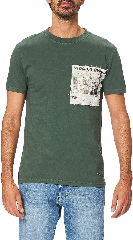 Desigual TS_Vida Chula Camiseta para Hombre