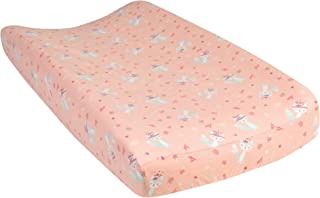 Trend Lab Fox and Flowers Deluxe Flannel Changing Pad Cover