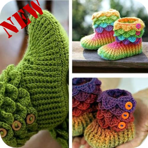 Baby Shoes New Crochet shoes Designs 2017