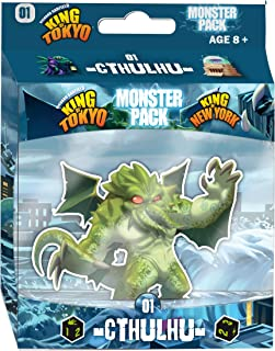 IELLO King of Tokyo Cthulhu Monster Game Pack