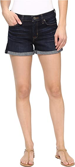 Asha Mid-Rise Cuffed Shorts in Novice 3