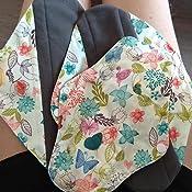 Toalla Higiénica, Logobeing Almohadilla Menstrual Compresa Menstrual Reutilizable Estera de Bambú Orgánico Lavable y Wet Bolsa (Multicolor -A, M)
