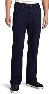 Lee Uniforms Men's Regular Fit Bootcut Jean, Pepper Prewash, 33W / 30L