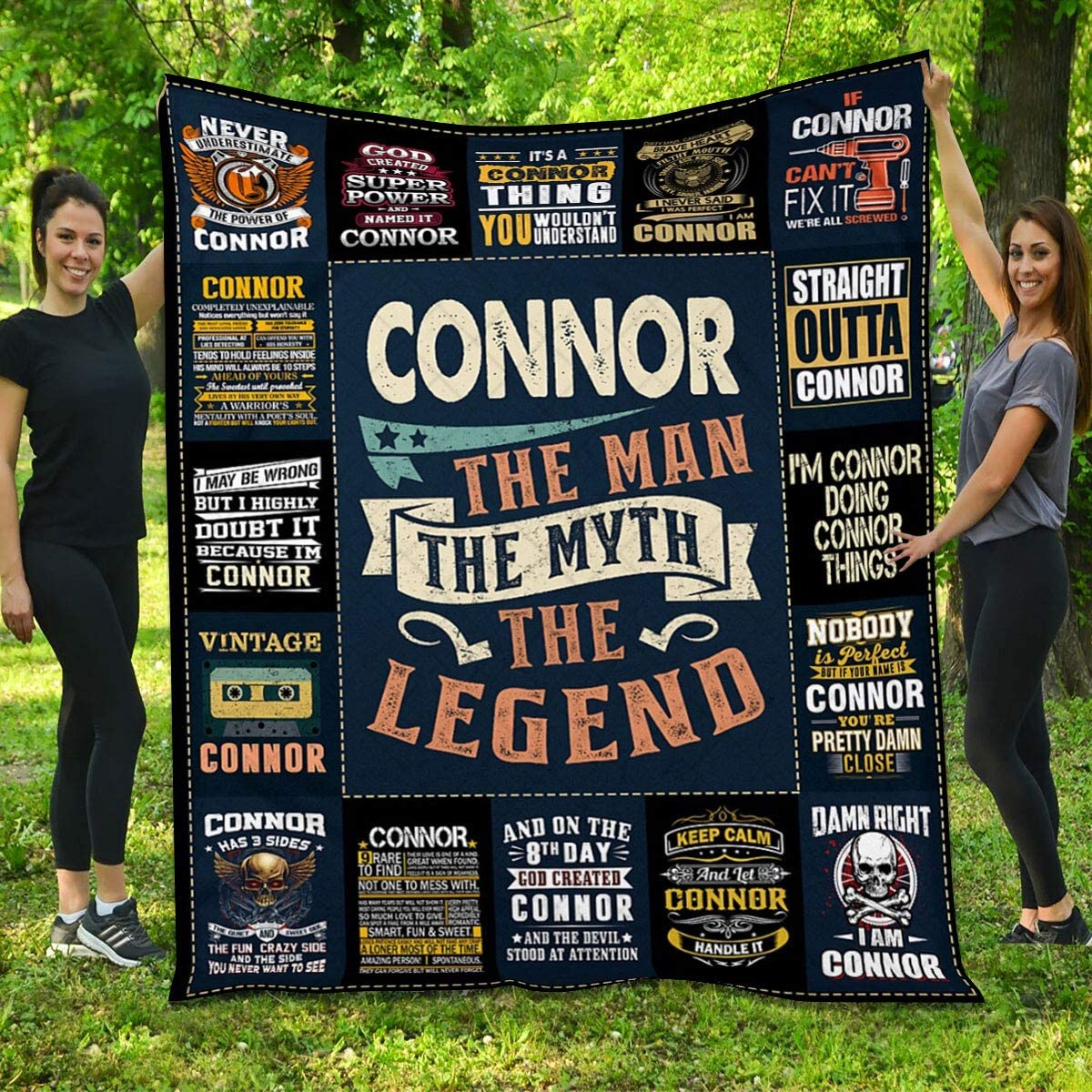 Quilt for Connor Weekly update Skull - The Legend Myth Gifts Man Limited time free shipping