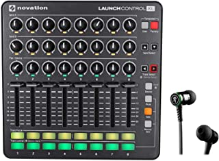 Novation Launch Control XL MIDI USB Ableton Live Controller+Mackie Earbuds