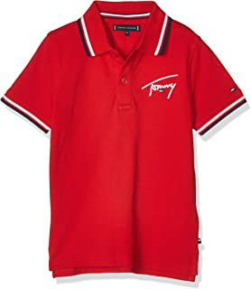Tommy Hilfiger Boy's SIGNATURE TOMMY S/S Polo Shirt (pack of 1)