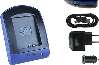 Oplader (USB, auto, net) voor NP-FT1 // Sony DSC-L1, M1, M2, T1, T5, T9, T10, T11, T33