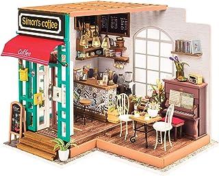 Fat Brain Toys DIY ミニチュアモデルキット サイモンのコーヒーショップ