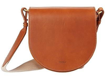 Shinola Detroit Sibley Saddle Bag (Natural) Handbags