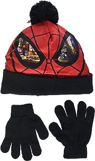 DC Comics Spiderman Eyes Set de bufanda, gorro y guantes para Niños