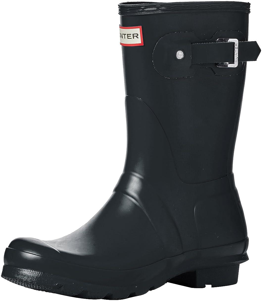 要旨救急車別の[ハンター] Women 's Original Short Rain Boot US サイズ: 11 M カラー: グレー