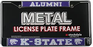 WinCraft Kansas State University S53556 LIC PLT Frame S/L Metallic