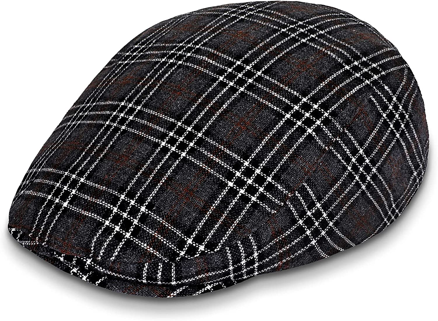 Breathable Newsboy Hat for Men Mens Flat Cap Summer Scally Paperboy Irish Drivers Gatsby Cabbie Ivy Beret