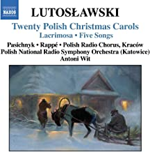 lutoslawski twenty polish christmas carols