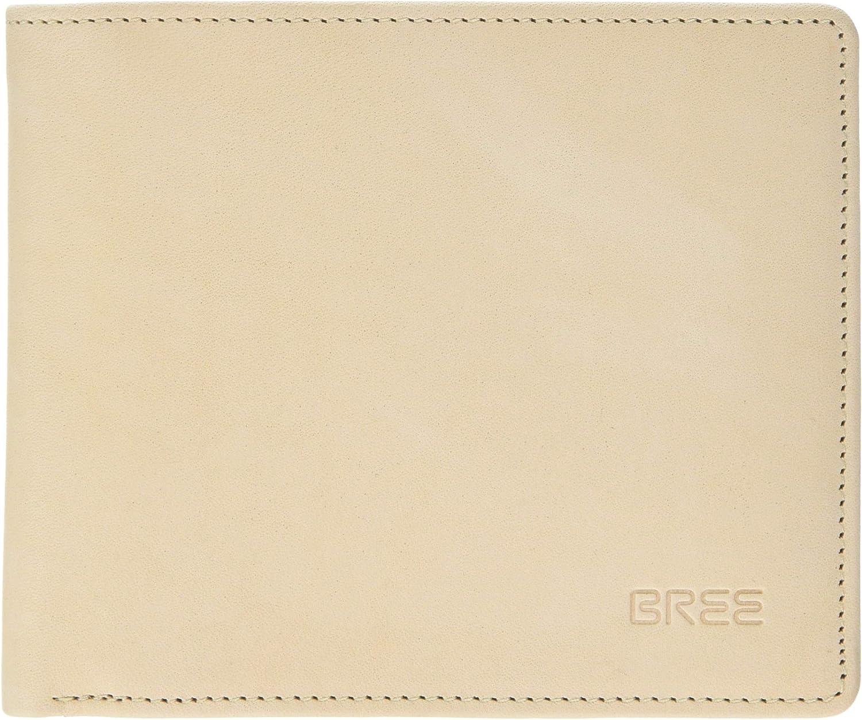 BREE Collection Lund New 109, Nature, Wallet, Women's Beige (Nature), 1.5x9.5x11 cm (B x H T)
