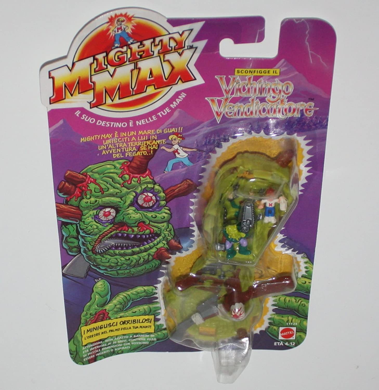 MIGHTY MAX AXMAN blueEBIRD PLAY SET NEW SEALED IN UK