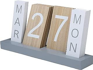 Best perpetual wooden calendar tiles Reviews