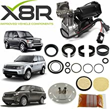 X8R HITACHI AIR COMPRESSOR & FILTER DRYER REPAIR REBUILD KIT APPLICABLE TO LAND ROVER LR3 DISCOVERY 3 2005-2009 PART X8R44