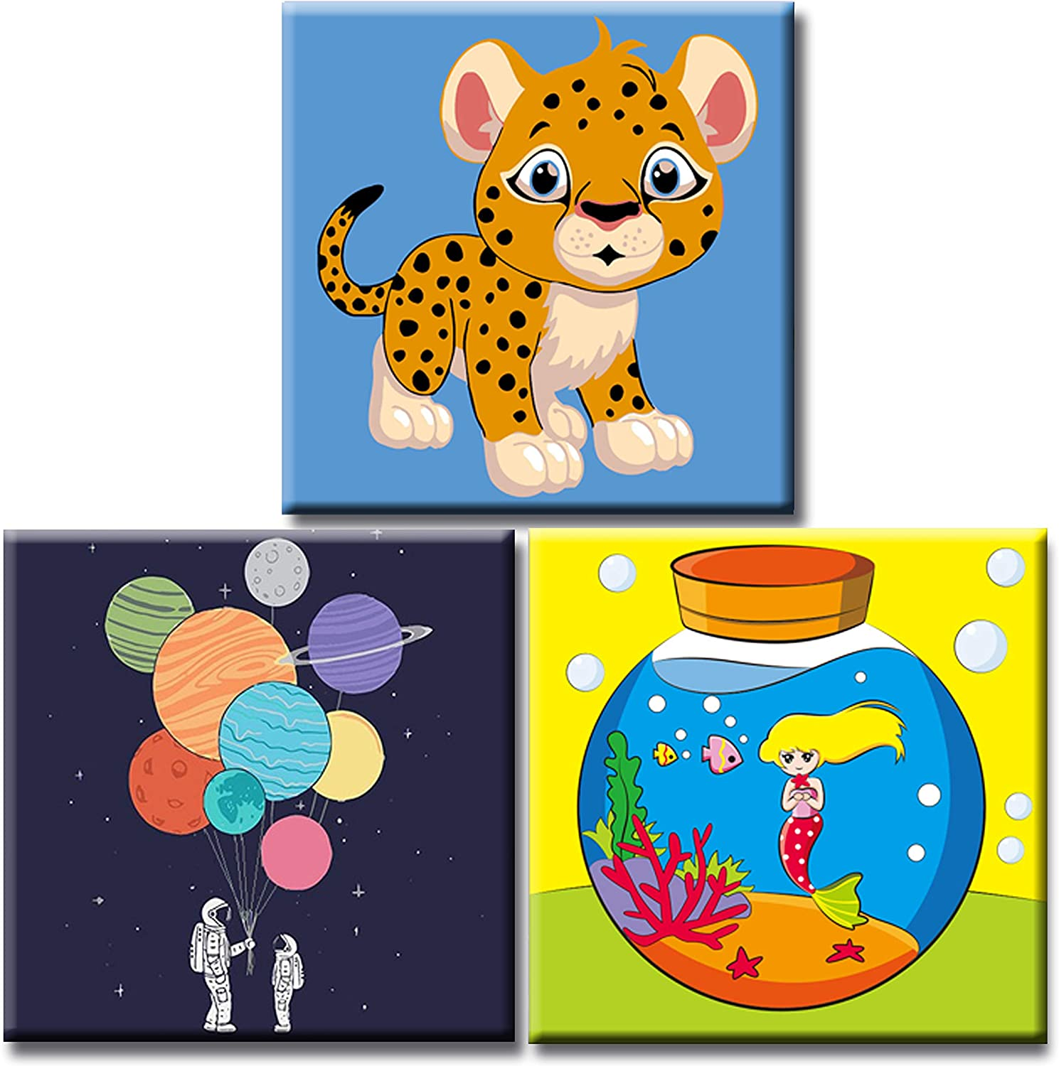 Attention brand Hiolife Paint by Numbers for Cheap sale DIY Acrylic Beginner Kids