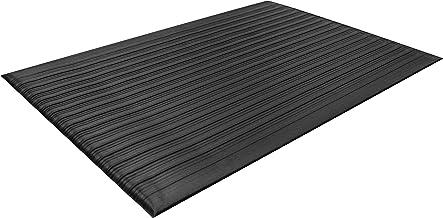 Guardian 24030502 Air Step Anti-Fatigue Floor Mat, Vinyl, 3'x5', Black, Reduces..