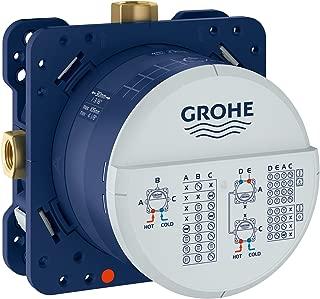 Grohe 35601000 Rapido Smartbox Universal Rough-In Box, StarLight Chrome