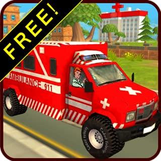 Ambulance Race & Rescue! FREE 3D Adventure Sim