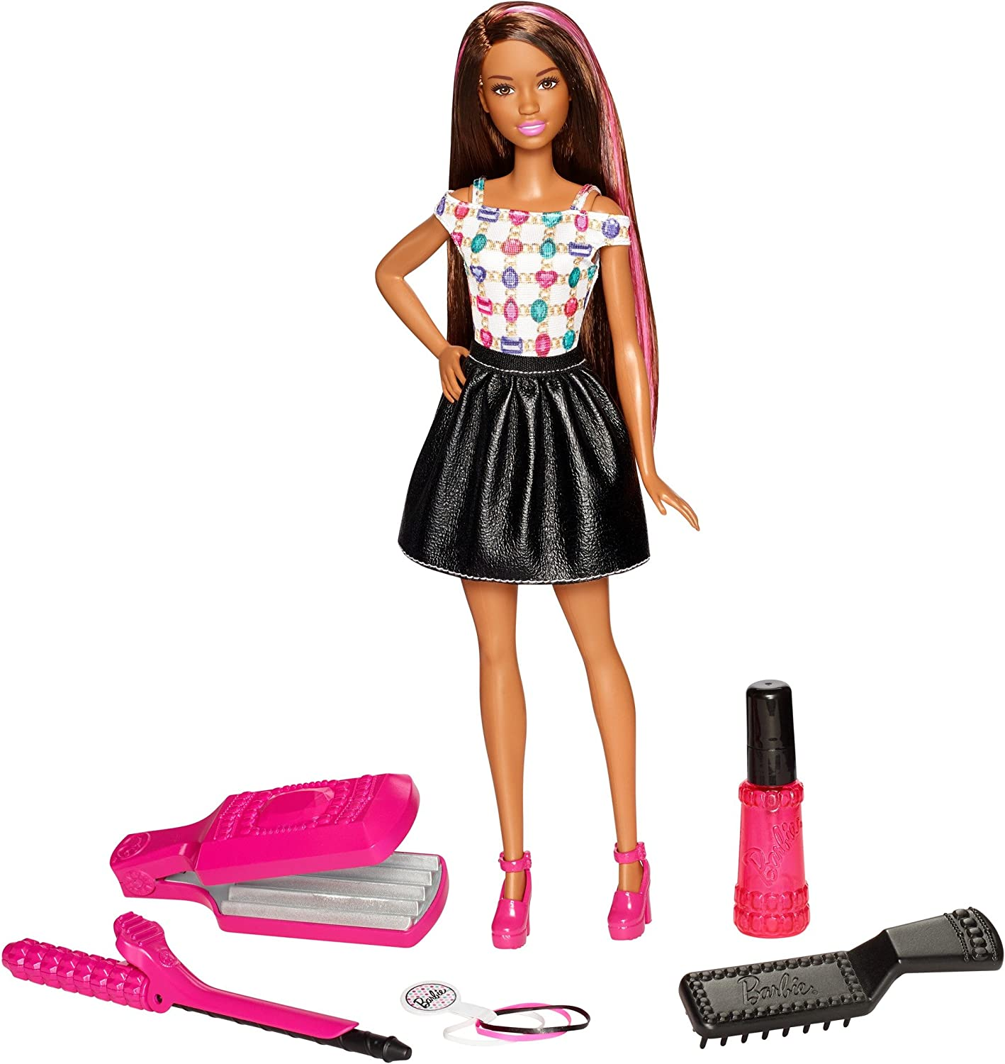Barbie D.I.Y. Crimps & Curls Doll