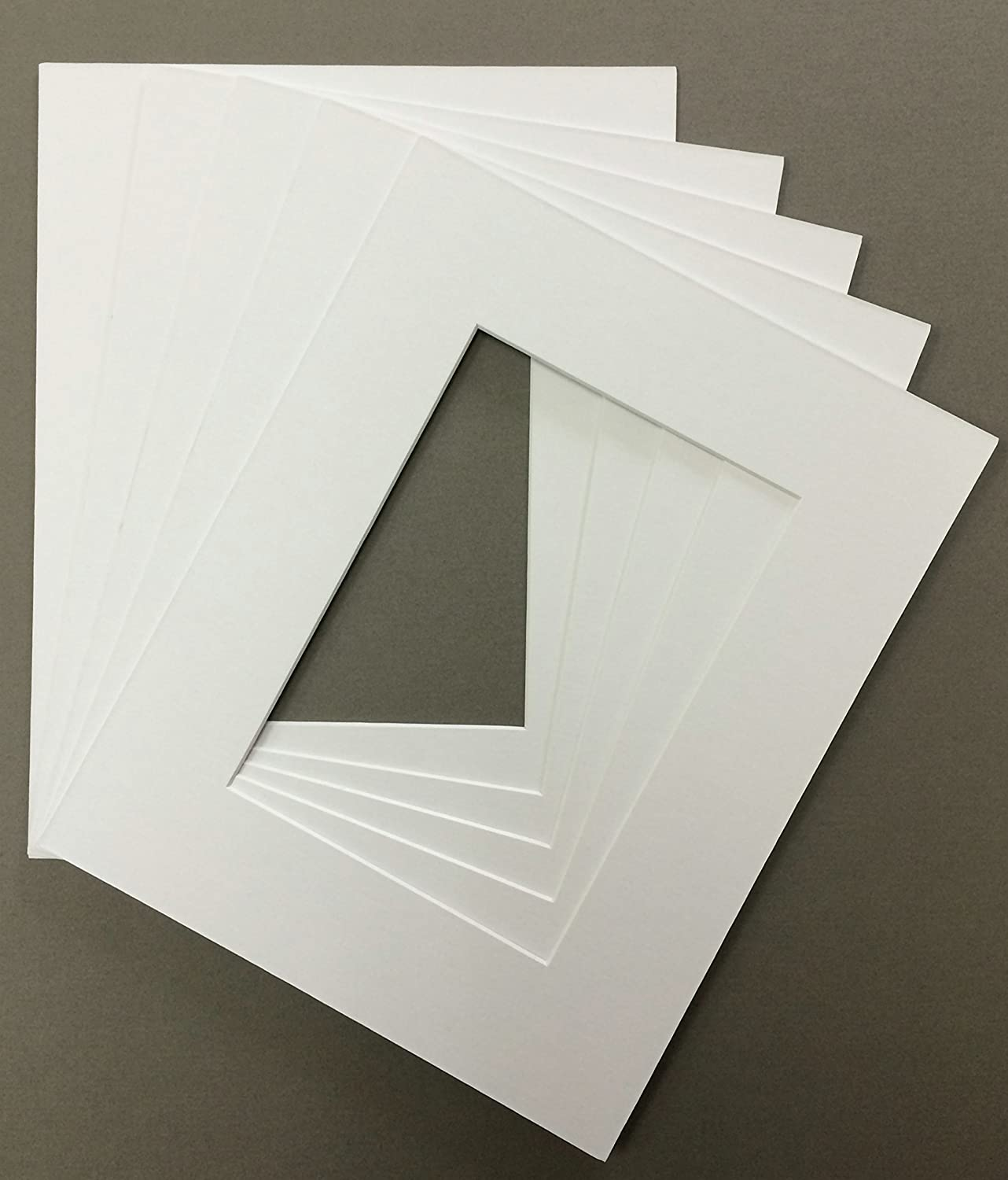 Pack of 5 18x24 White Financial sales sale Picture Matting with Financial sales sale Cor Mats Mattes