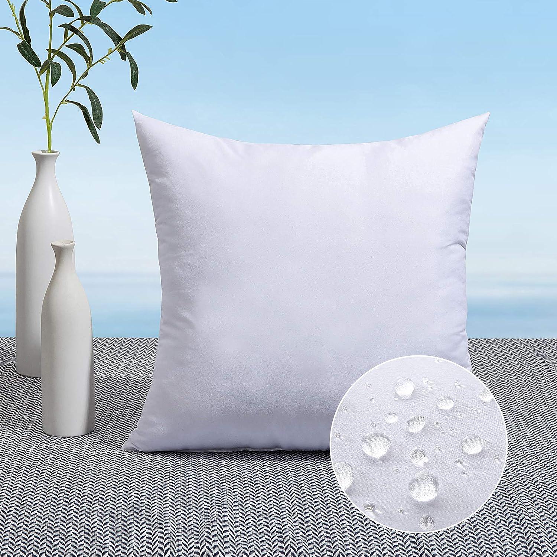 MIULEE 16 x 16 Throw Pillow Insert Decorative Pillow Insert Prem