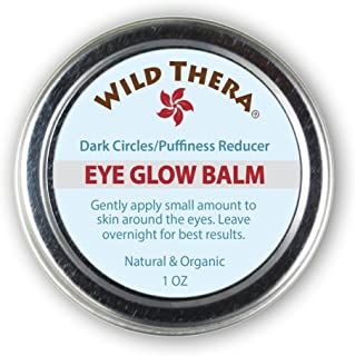 Wild Thera Under Eye Cream for bags under eyes. Eye serum for dark circles & bags. Natural Eye treatment fo...