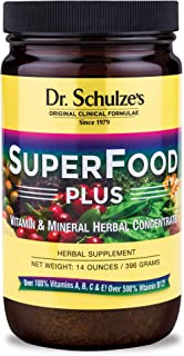 Sponsored Ad - Dr. Schulze's Superfood Plus - Natural Herbal Product - 14 Ounce Powder