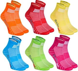 Rainbow Socks - Hombre Mujer Calcetines Deporte Colores de Algodón