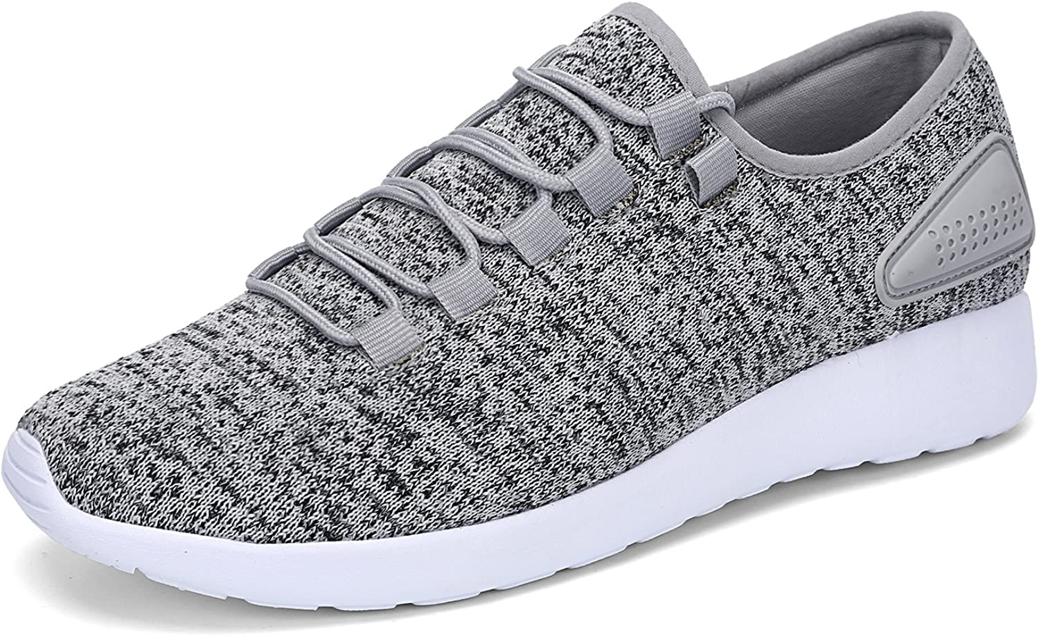 LEADERICA Men's Running shoes Fashion Sneakers Slip-On Knit Sport shoes