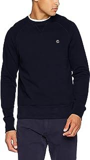 Timberland Men's Exeter River Crew Sweatshirt, Blue (Dark Sapphire 433), Medium 海外卖家直邮