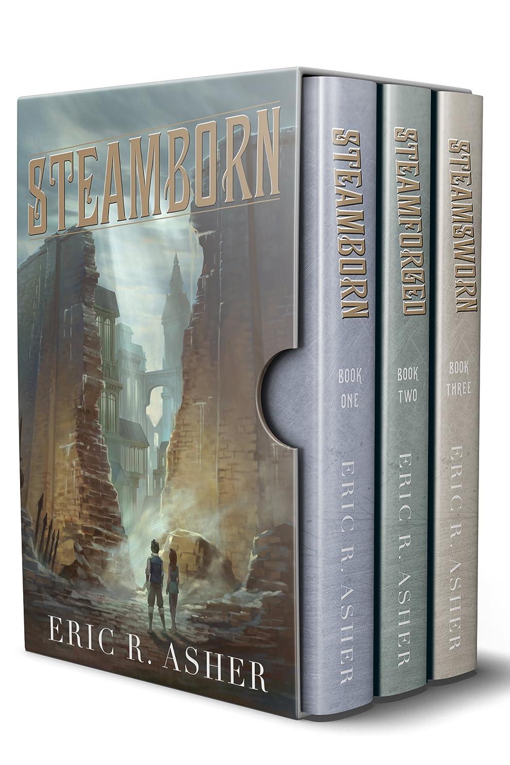 一月記念碑的な落花生Steamborn: The Complete Trilogy Box Set (Steamborn Series Box Set Book 1) (English Edition)