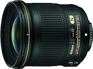 Nikon Nikkor AF-S 24mm f/1.8G ED Lens, Black
