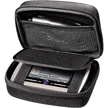 Becker Navis e accessori Adatta per Dispositivi di navigazione Tomtom Imbottita Nera by TARGARIAN 13,5x 9x 3 Cm GPS- Custodia universale GPS Garmin