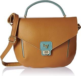 Baggit Women's Messenger Bag (Tan)