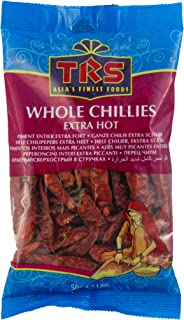 TRS Whole Chillies Extra Hot 50g Chilischoten