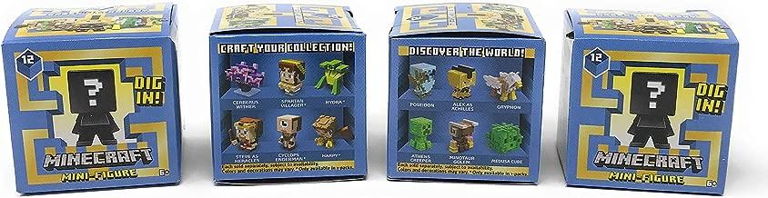 Minecraft Greek Mythology Series 12 Mini-Figure Blind Box (Pack of 4)
