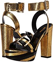 Just Cavalli - Metallic Striped Sandal