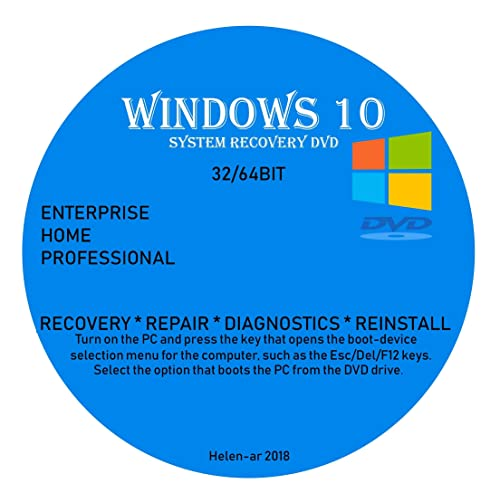 windows 10 recovery disk full