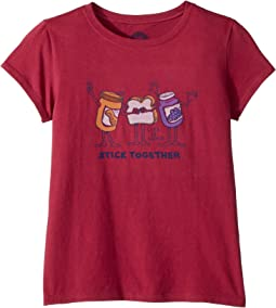 Stick Together PB & J Crusher T-Shirt (Little Kids/Big Kids)