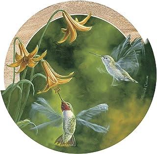 Thirstystone Drink Coaster Set, Ruby-Throated Hummingbirds