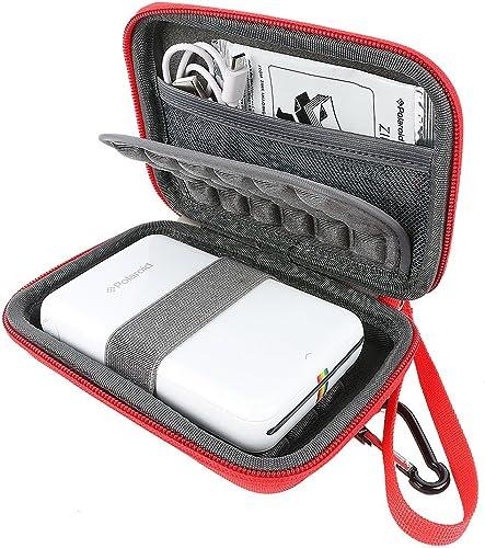 Khanka Portable Etui de Voyage Housse pour Polaroid Zip Mobile Printer. Mesh Pocket pour Polaroid Papier Photo Zink P...