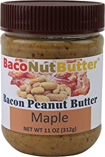 BacoNutButter Bacon Peanut Butter, Maple (11 Ounce)