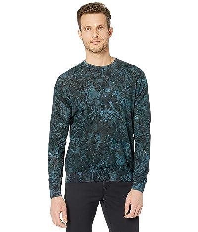 Robert Graham Mindscape Long Sleeve Sweater