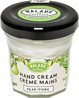 Balade En Provence Natural Shea Butter Hand Cream, Pear - Quick-Absorbing Dry Skin Relief, Vegan Certified, Cruelty-Free, No Sulfates, Parabens Free, Natural Ingredients 1.35 oz (1.35 Ounce)
