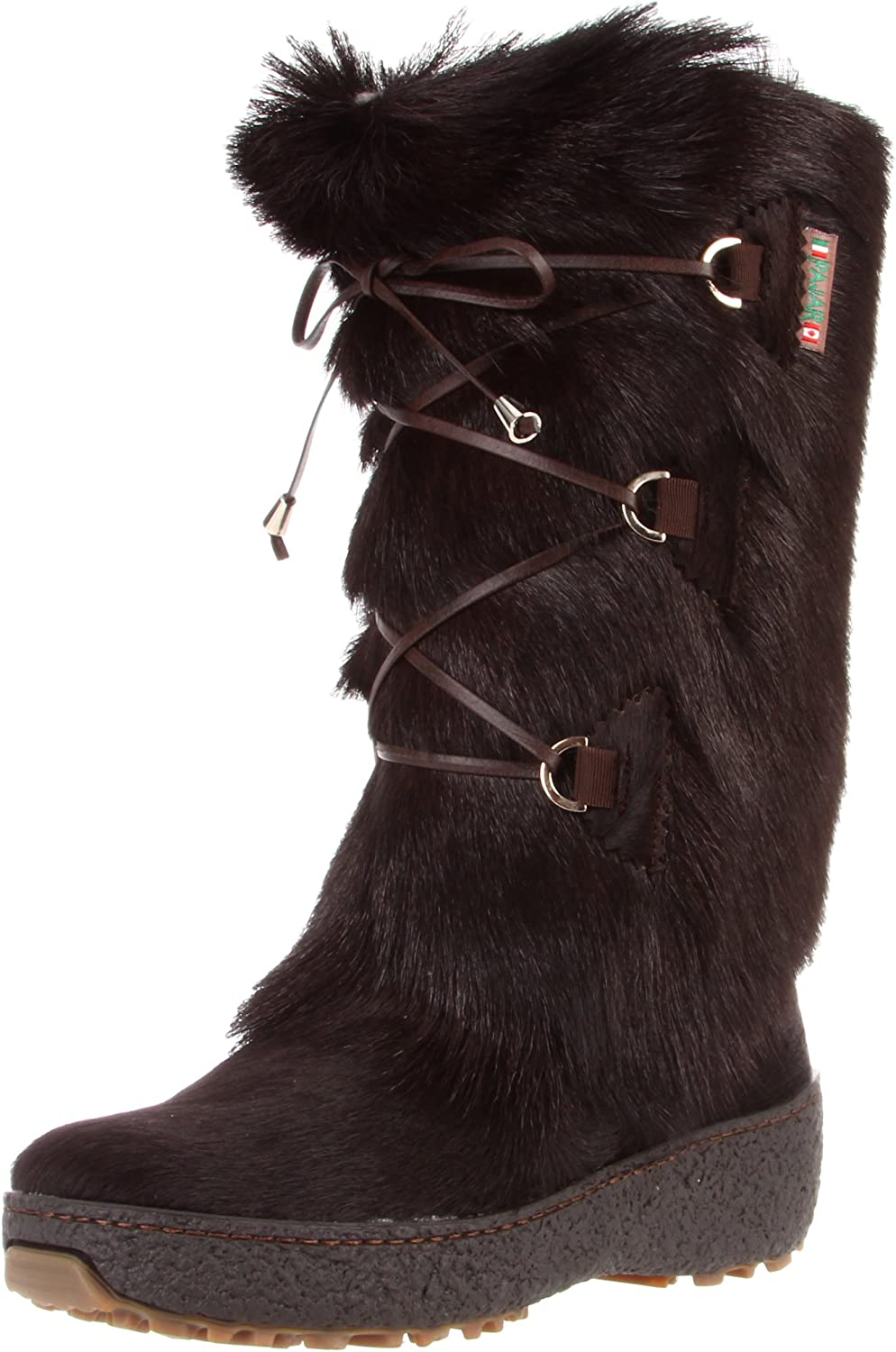 Pajar Women's Davos Waterproof Fur Wool Lined All-Weather Boots